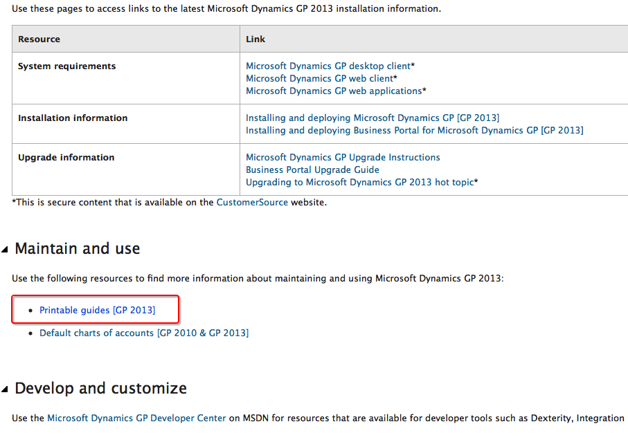 photograph regarding Hot Topic Printable Application called In which Include #MSDYNGP Item Printable Manuals Absent